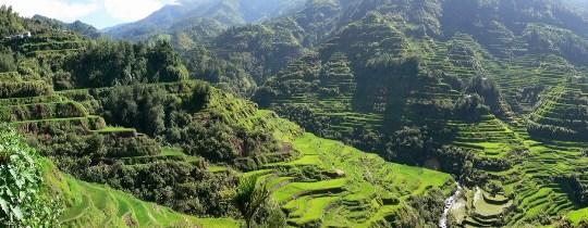 Rijstterrassen - Banaue, Luzon, Filipijnen