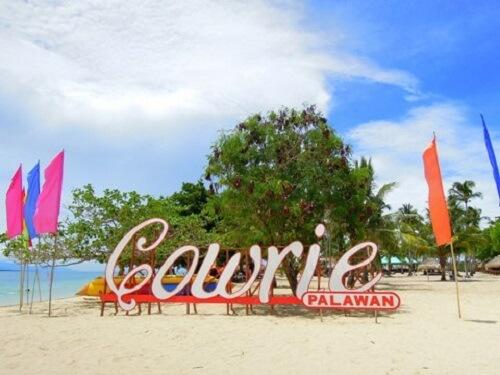Cowrie Island - Honda Bay, Palawan, Filipijnen