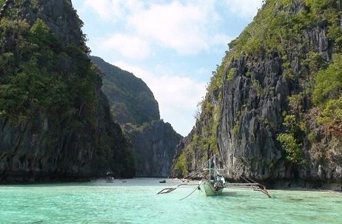 Entree Big Lagoon - Bacuit Bay, El Nido, Palawan