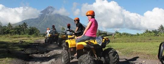 ATV tour naar de Mayon Vulkaan - Legazpi, Albay, Luzon Filipijnen