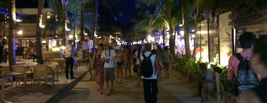 Avond op Boracay - Western Visayas, Filipijnen