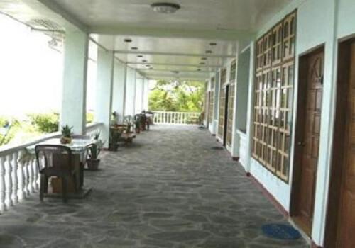 Buitenzijde kamers Hotel B21 - Oslob Omgeving, Cebu, Central Visayas, Filipijnen