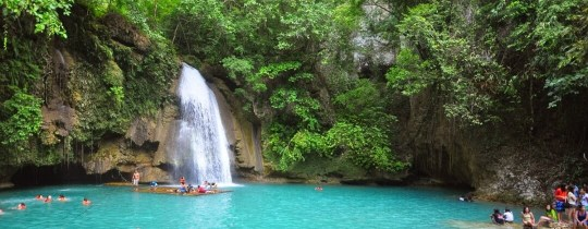Kawasan Falls - Cebu Island, Central Visayas, Filipijnen