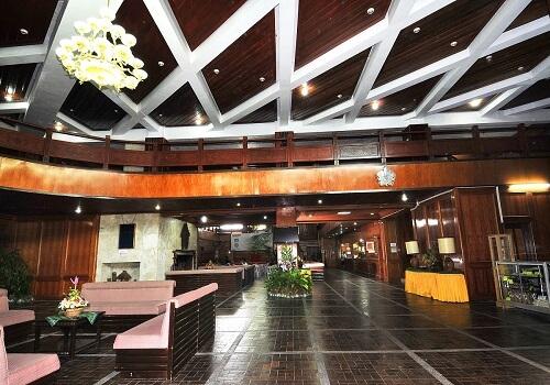 Lobby Hotel B01 Banaue - Ifugao, Luzon, Filipijnen