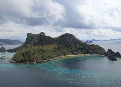 Luchtfoto Resort L11 - Taytay, Palawan, Filipijnen