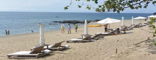 Eén van de stranden van Batangas, Luzon, Filipijnen
