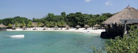 Strand van Resort L11 - Mactan Island, Central Visayas, Filipijnen