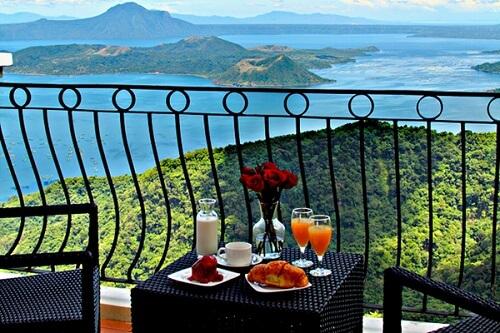 Uitzicht Hotel M01 - Tagaytay, Luzon, Filipijnen