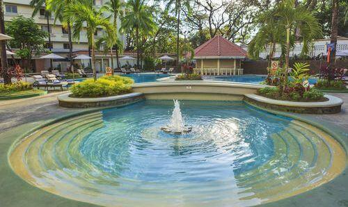 Zwembad Hotel L01 - Clark, Luzon, Filipijnen