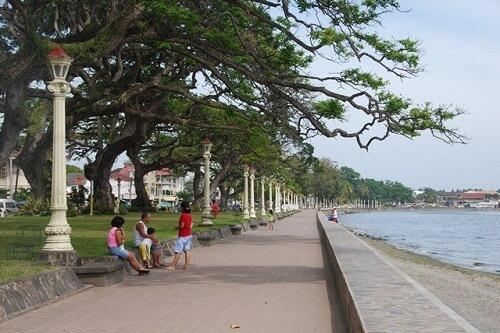 Boulevard - Dumaguete, Negros Oriental, Central Visayas, Filipijnen