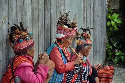 Ifugao Bergstam - Banaue, provincie Ifugao, Luzon, Filipijnen