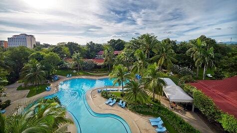 Zwembad - Resort M11 - Mactan Island, Cebu, Filipijnen