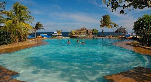 Zwembad Resort M21 - Dumaguete Omgeving, Central Visayas, Filipijnen