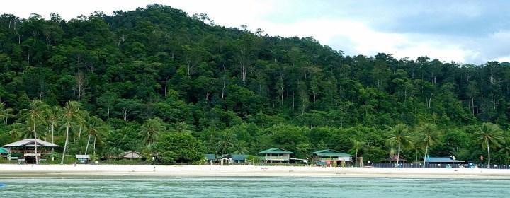 Strand Port Barton - Palawan, Filipijnen