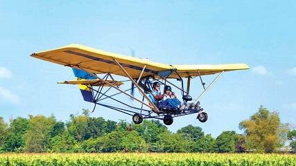 Bestuur zelf een ultralicht vliegtuigje tijdens een groepsrondreis Filipijnen!