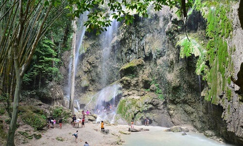 Tumalog Falls - Oslob, Cebu, Filipijnen