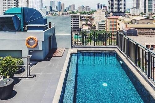 Zwembad hotel M03 - Manilla, Filipijnen