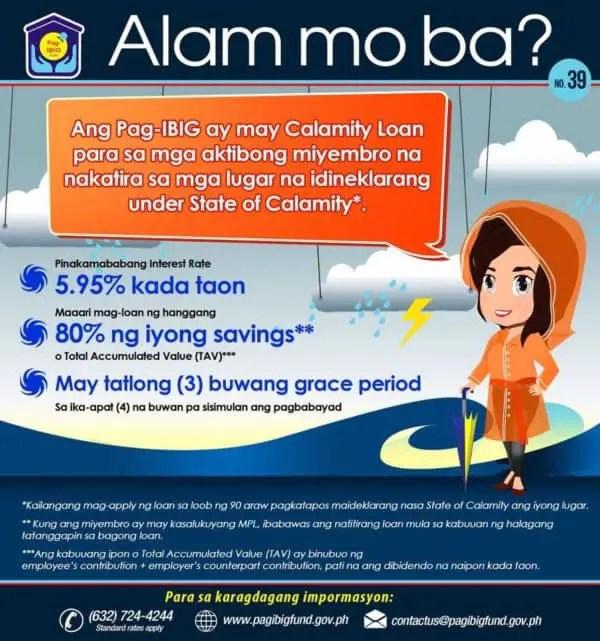 Loan Application Calamity Form Sss Online