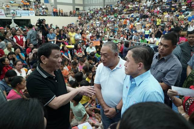 Duterte vows permanent housing for Cebu landslide victims