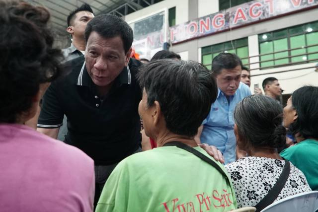 Pres Duterte vows permanent housing for Cebu landslide victims