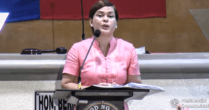 Mayor Sara Duterte, nais na huwag isali ang martial law sa Davao City
