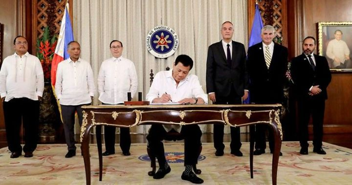 Pres Duterte sign Palawan oil exploration deal with Israel to boost PH energy resources dev't