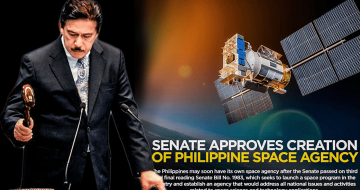 Good news! Senate approves creation of PH Space Agency