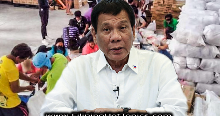 "Pres Duterte, ""I will do everything to ensure that no one will go hungry""  amid Covid-19 crisis"