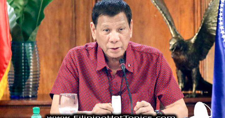 Pres Duterte thinks China among 1st to develop Covid-19 vaccine