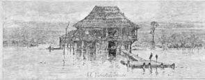 El Maestro's House, St. Malo, Louisiana, 1883.