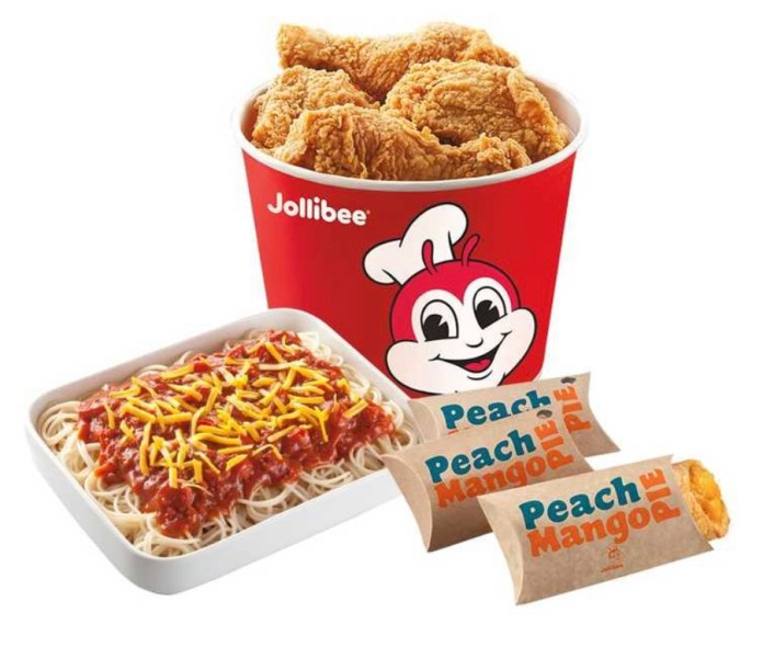Jollibee's Chicken Bucket Treats are available for purchase