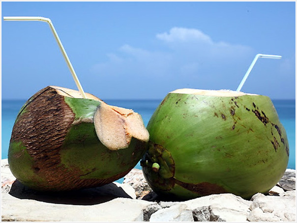 Coconut juice - Buko!