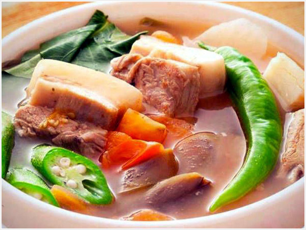 The Famous dish Sinigang!