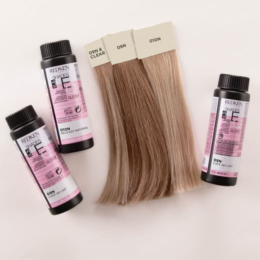 redken eq gloss, how to bleach and dye hair at home