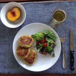 Fishballs and Fresh Salad