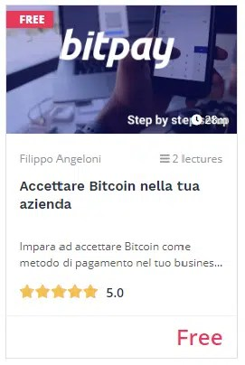 videocorso accettare bitcoin in azienda