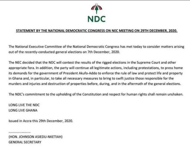 NDC supreme court