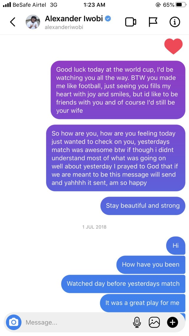 1612278366 150 Nigerian lady shares screenshots of love messages she sent to