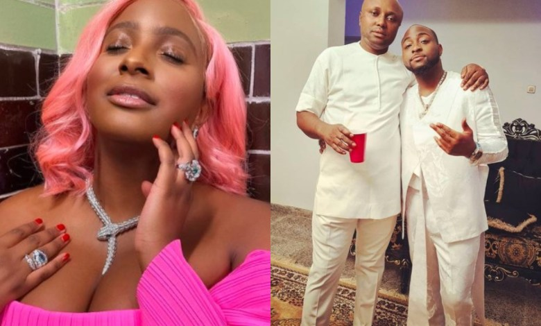 Davido and Cuppy