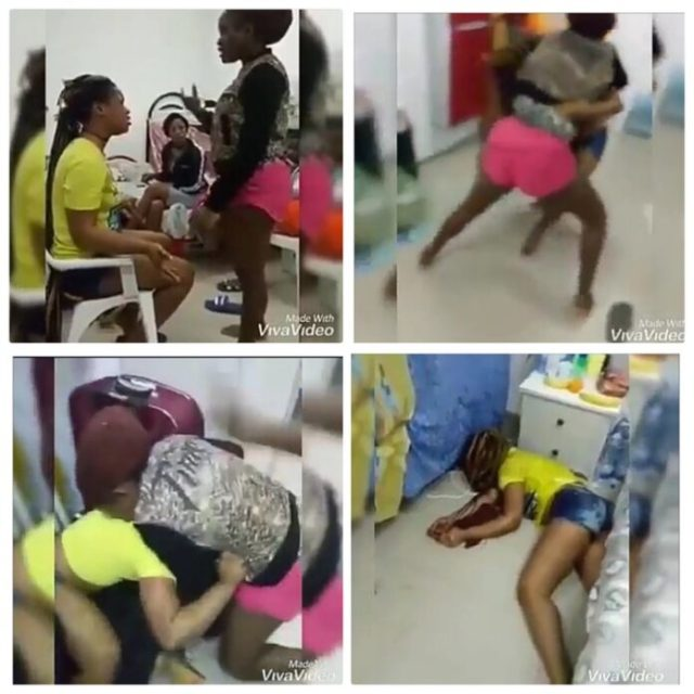 Lady Beat Up Her Roommate Till She Passed Out; video drops