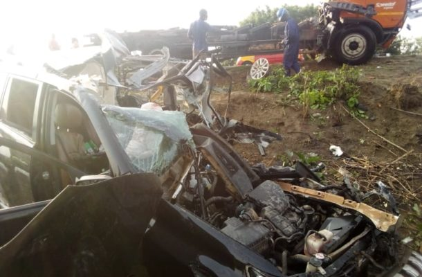 3 Die In Gory Accident At Gomoa Okyereko