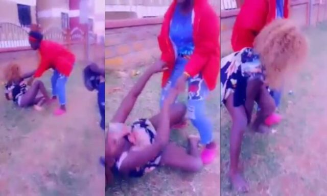 Drunk Slay Queen Causes Massive Stir After Overindulging In Alcohol [Watch ]