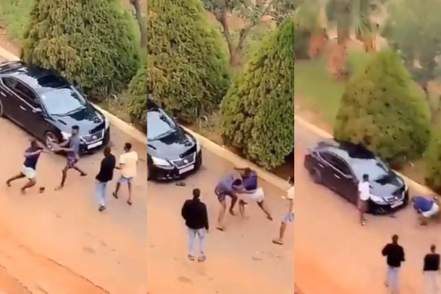 Two KNUST Boys Fights Over A Lady