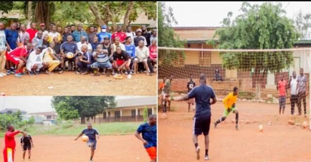 Asenso Boakye football skills