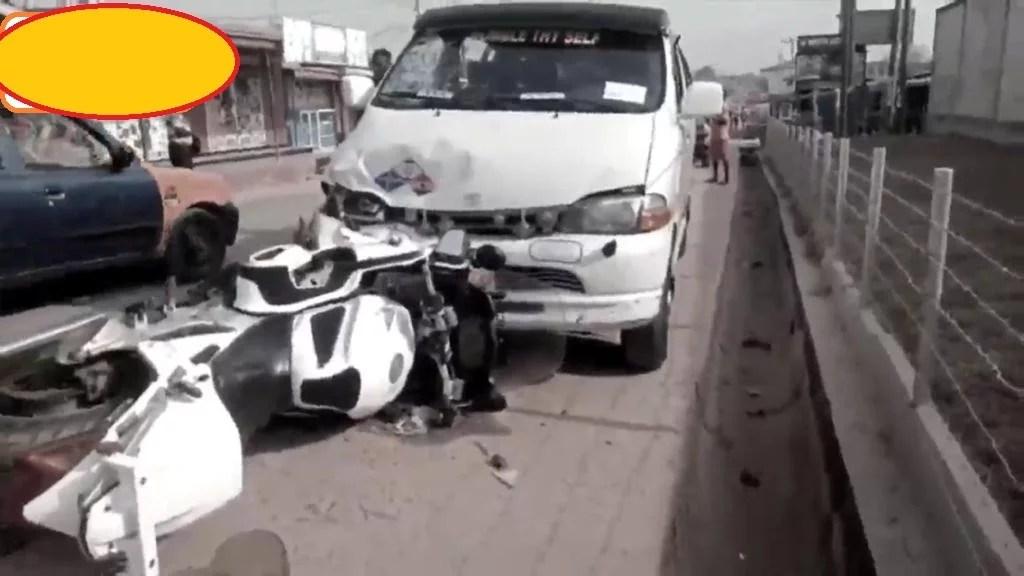 Trotro driver-police dispatch-kasoa-accident