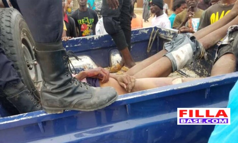 Arm Robbers Seriously Beaten For Robbing MoMo Agent