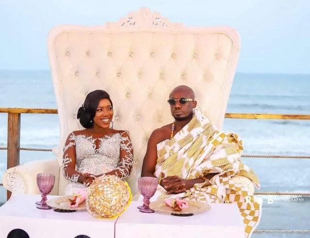 Eugene Osafo Nkansah and wife