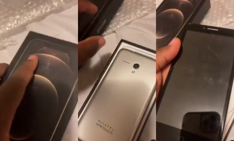 Man Buys Brand New iPhone 12 Pro Max For $200 Only To Find An Alcatel Onetouch Inside