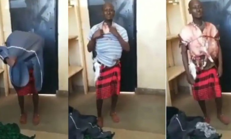 Man busted for stealing meat