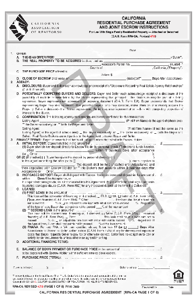 Vehicle Purchase Agreement Form Free Download. Free Bill of Sale ...